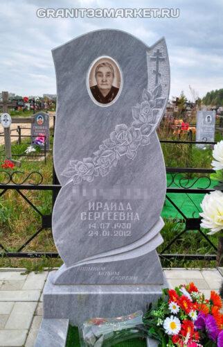 Памятник из мрамора с портретом на фотокерамике